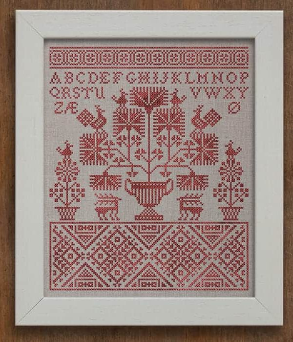Forest Santa ~ PDFDownload Folk Embroidery Pattern ~ from Notforgotten Farm\u2122