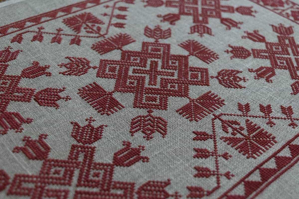 Knots Flowers Modern Folk Embroidery