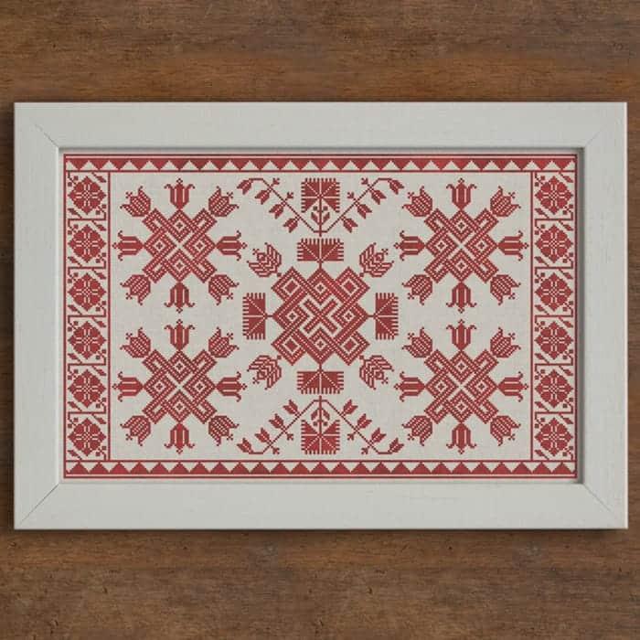 Decorative Patterns Modern Folk Embroidery