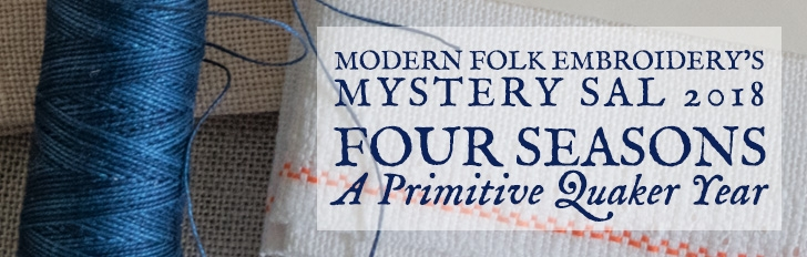 Modern Folk Embroidery Cross Stitch Supplies Inspired By Centuries