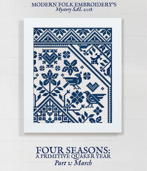 MYSTERY SAL 2018 – Modern Folk Embroidery